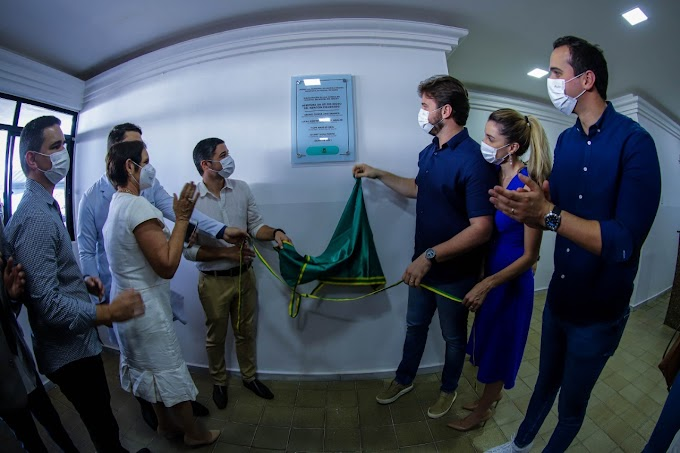 Prefeito Bruno entrega UTI do idoso e ala clínica do Hospital Dr. Edgley com 40 novos leitos