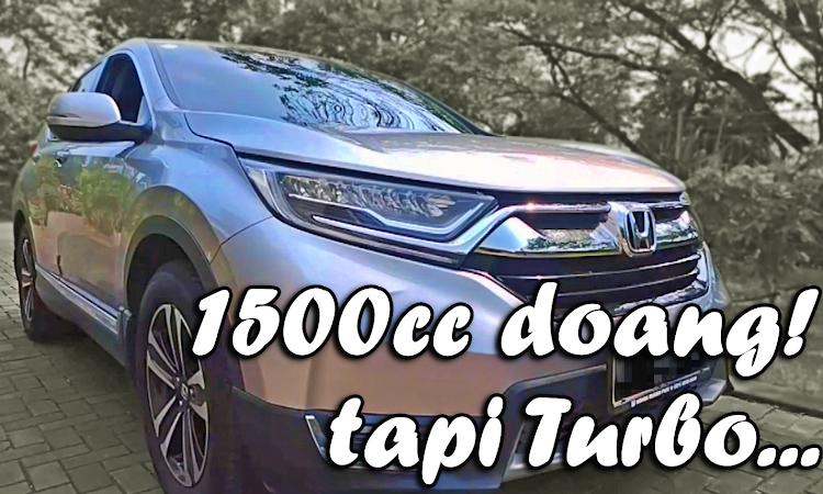 [Review] Honda CRV Turbo Prestige | Dalemannya Mulus...