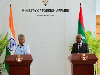 India and Maldives signed Various Agreements