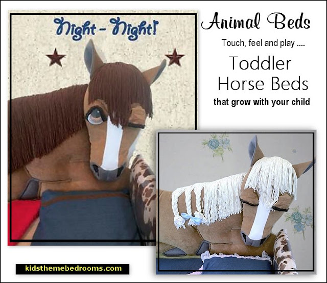 HORSE beds horse themed beds horse toddler beds horses bedding equestrian horses bedroom furniture
