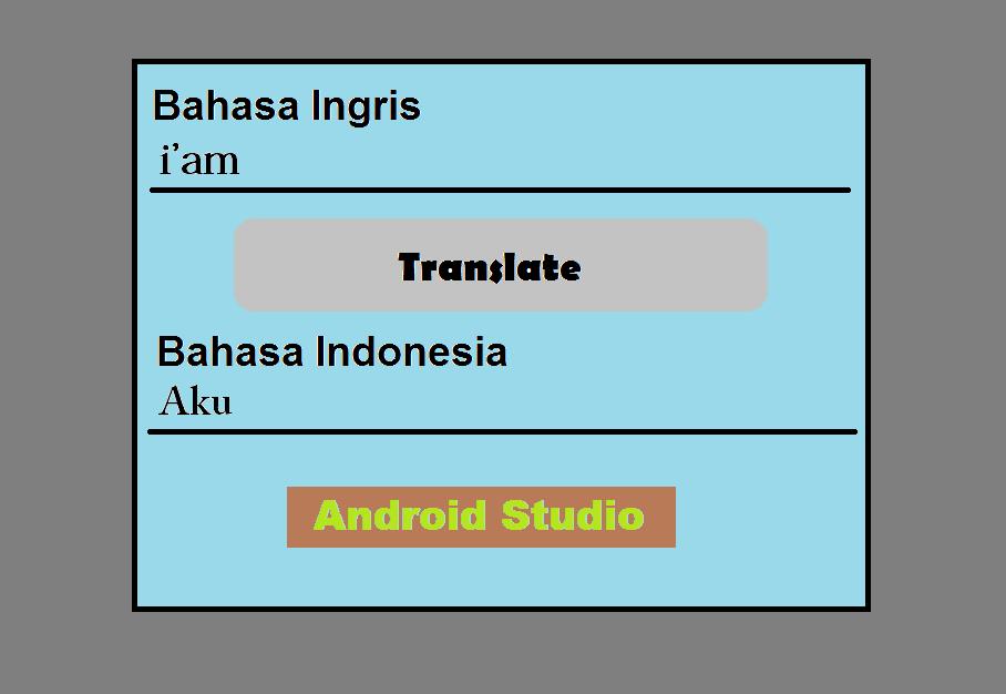 Cara membuat aplikasi kamus menggunakan android studio