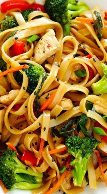 30-Minute Sesame Chicken Noodle Stir-Fry