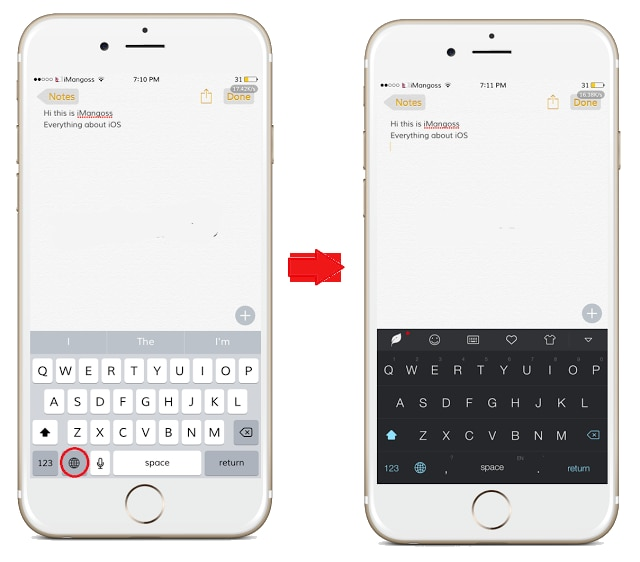 Are you bored with the default keyboard color on iOS? I think many of you would say yes! Because Apple has not changed the look of the keyboard