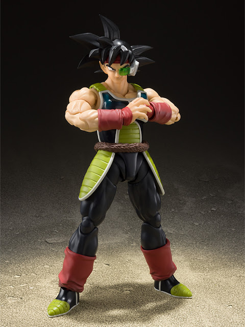 S.H.Figuarts Bardock de Dragon Ball Z - Tamashii Nations