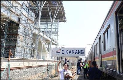 Jadwal KRL Jakarta Cikarang 2017 Terbaru