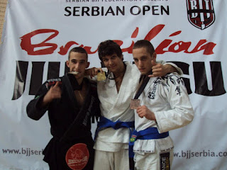 Igor Popovic taking gold at the Serbian Open 2011