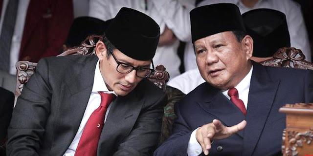 3 Alasan Yang Buat Rakyat Kecewa Terhadap Prabowo-Sandi