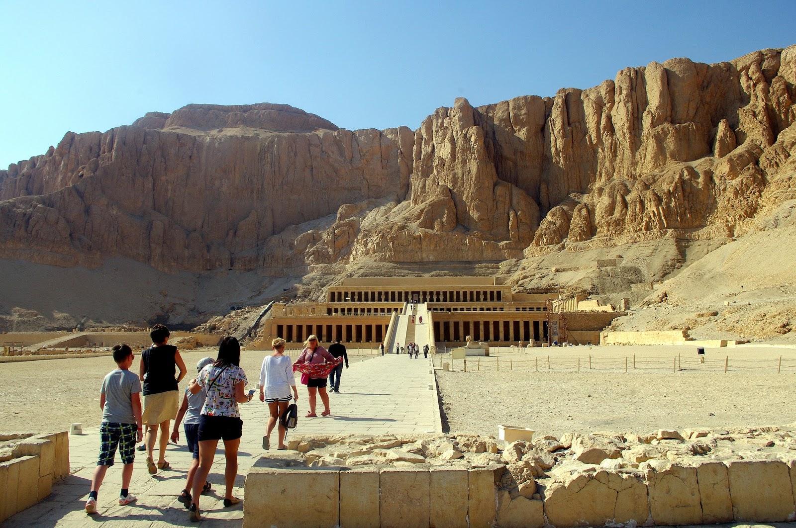 Egipt Świątynia Hatszepsut Luksor