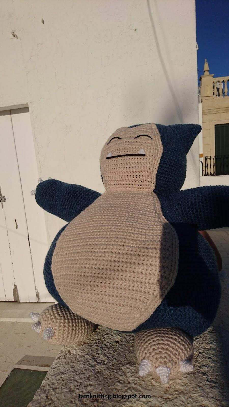Snorlax Pattern   Pokemon crochet pattern, Crochet patterns ...   1600x900