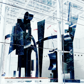 DAWN SHADOWS scupture by Louise Nevelson