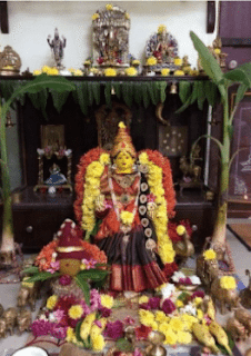 varalakshmi vratam at home