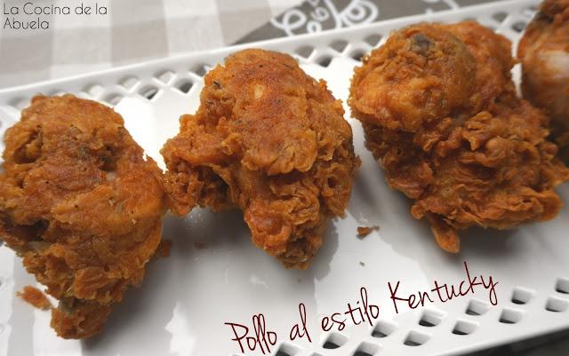 Pollo frito estilo KFC kentuky