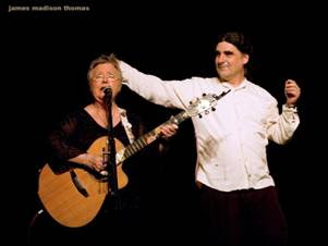 Christine Lavin and Don White Live at the Circle of Friends Coffeehouse - Oct 28