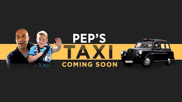 طفل يلتقي جوارديولا في تاكسي ويطالبه بضم ميسي شاهد الفيديو