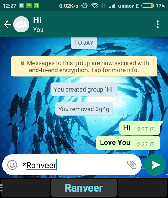 WhatsApp Par Stylish Aur Colorful Green Text Message Kaise Likhte Hain