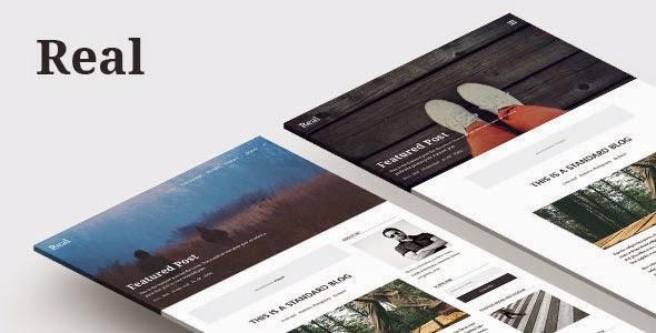 Responsive Blog WordPress Theme