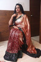 Udaya Bhanu lookssizzling in a Saree Choli at Gautam Nanda music launchi ~ Exclusive Celebrities Galleries 039.JPG