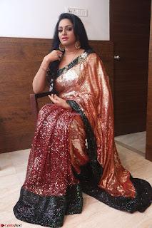 Udaya Bhanu lookssizzling in a Saree Choli at Gautam Nanda music launchi ~ Exclusive Celebrities Galleries 039.JPG