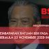 Rasmi : Pembayaran Rayuan BSH Fasa 3 Bermula 23 November
