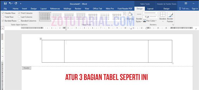 Tutorial Membuat KOP Surat Resmi Kantoran di Word 2 Logo