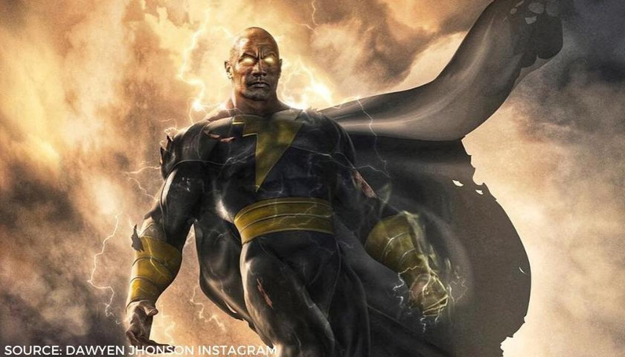 Black adam first look Dwayne johnson shared | Dynamicsarts