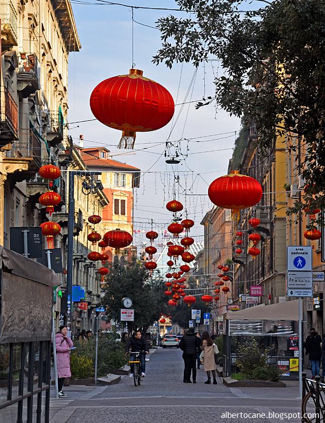 Milano, via Paolo Sarpi