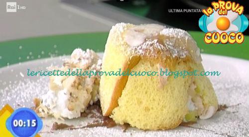 Coppetta di colomba alla ricotta e cioccolato ricetta Improta da Prova del Cuoco