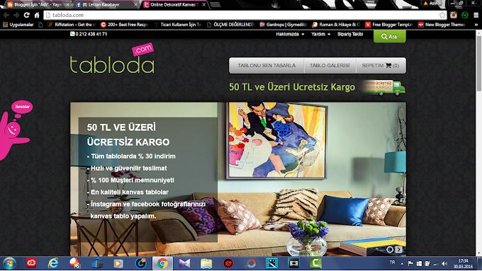 Tabloda.com ile Eviniz Şenlensin!