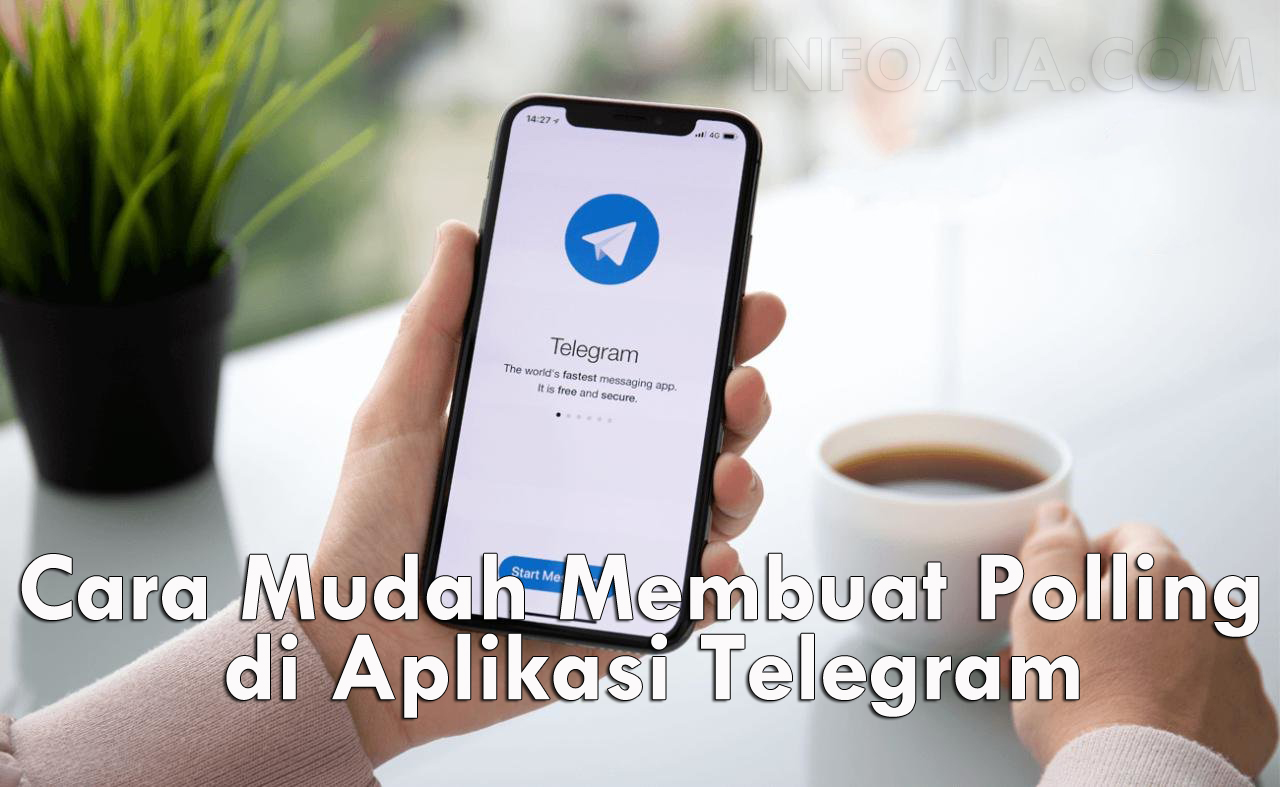 Cara membuat polling dari telegram