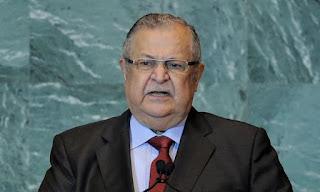 Former Iraqi president Jalal Talabani dead, state TV reports