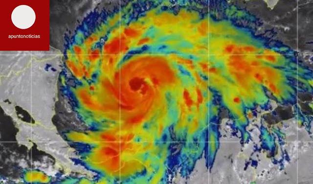 El huracán Iota