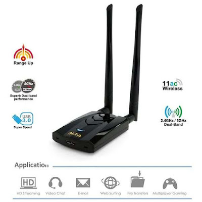 Alfa AWUS036ACH, Best Kali Linux Wifi Adapter 2020