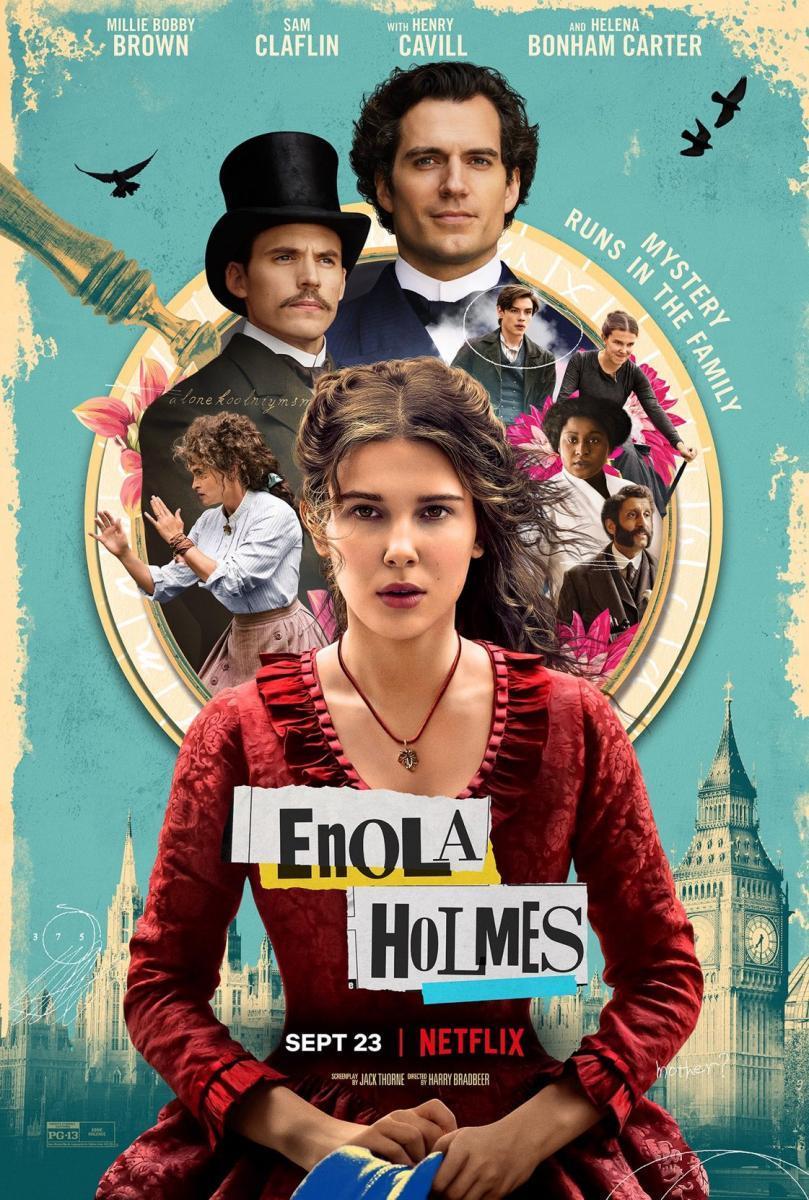 Download Enola Holmes (2020) Full Movie in Hindi Dual Audio BluRay 720p [900MB]