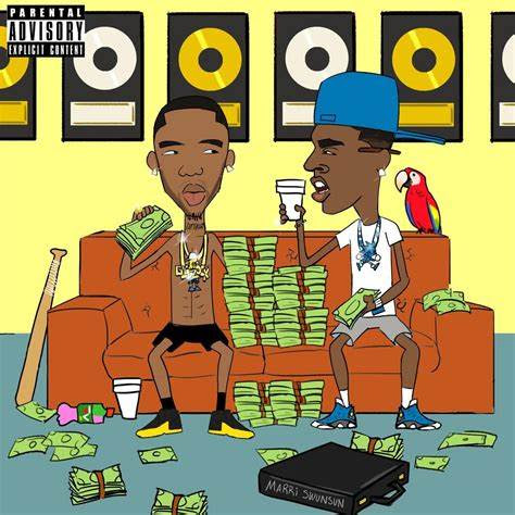 Listen: Young Dolph And Key Glock - Sleeping With The Roaches