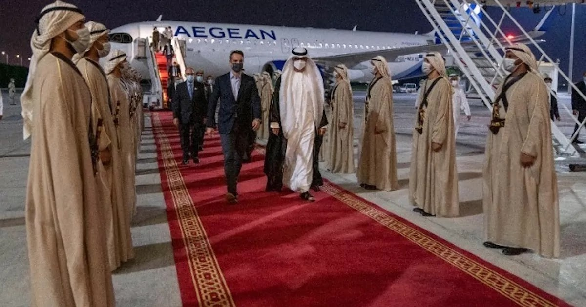 Greece Signs Historic Agreement With The UAE In Defence Against Turkish Provocations