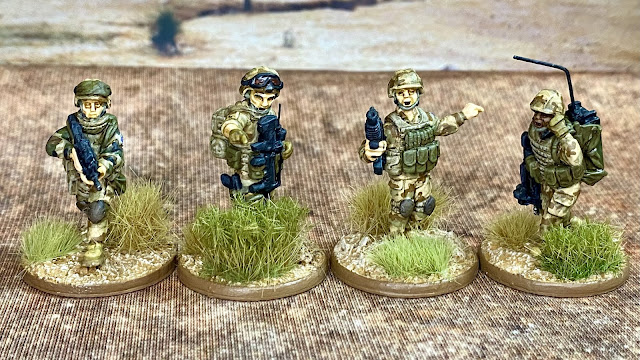 28mm modern French Foreign Legion for Mali and the Sahel from Eureka and JJG Print 3D