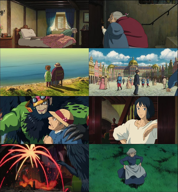 Howls Moving Castle 2004 Dual Audio 720p BluRay