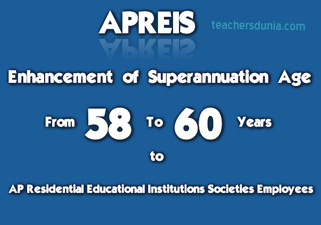 APREIS-Employees-Retirement-Age-58-To-60-Years