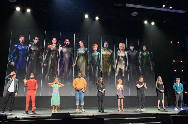 Eternals cast at D23 Expo