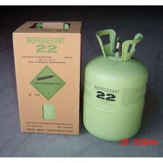 Phân biệt gas điều hòa R22, R410A, R32