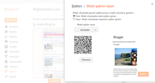 Blogger mobil şablona adsense ekleme