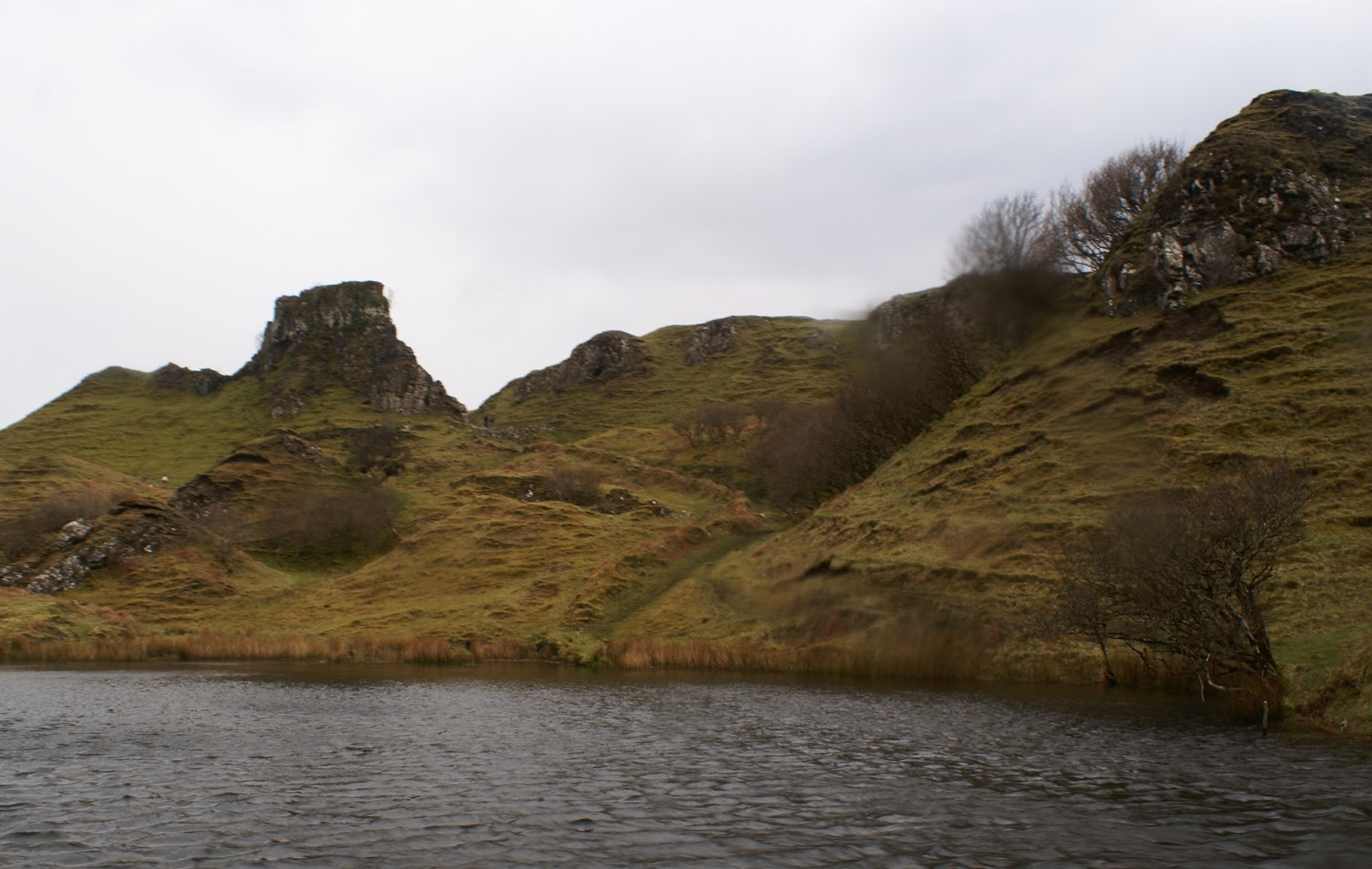 fairy glen isle of skye scotland united kingdom uk