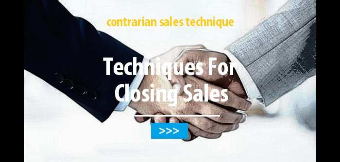 Techniques for closing sales