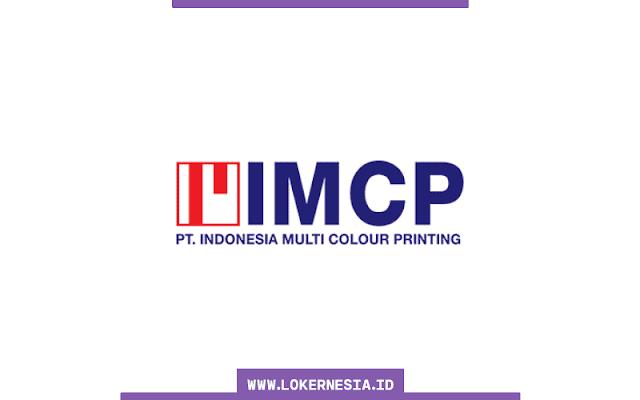 Lowongan Kerja PT Indonesia Multi Colour Printing Serang Mei 2021