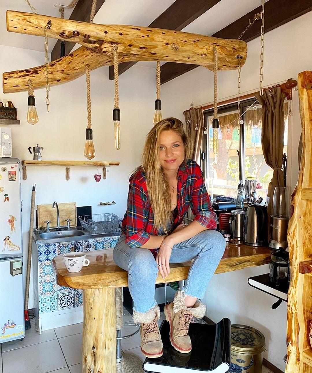 Mayte Rodríguez y su faceta de carpintera