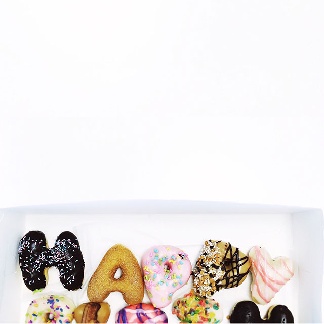Say it with donuts & I'm all ears - happy weekend!