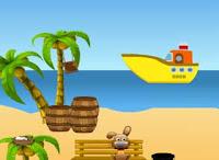 Juegos de Escape - Girl Escape With Boat