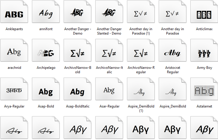 Download 1000 Plus Fonts packs free downloads by Aju photoshop