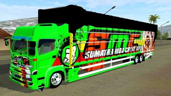 download mod truck hino c8 terpal sumateraan