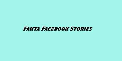 Fakta Facebook Stories yang Harus Diketahui Digital Marketer